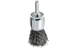 Cepillo de pincel 25x0,3 mm/ 6 mm, acero ondulado (630554000)