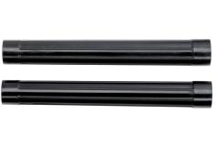 2 tubos de aspiración D-58mm,L-0,4m, plástico (630867000)