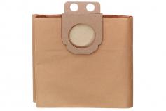 5 Sacos do filtro em papel de 20 l para AS 1200/ASA 1201/AS 20L (631754000)