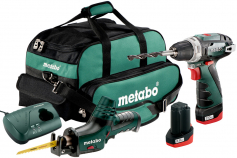 Combo Set 2.4 10.8 V (685056000) Cordless Machines in a Set