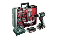 BS 18 LT Set (602102600) Taladradora atornilladora de batería