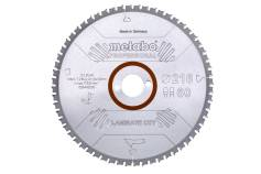 "Saw blade ""laminate cut - professional"", 216x30 Z60 FZ/TZ 0° (628442000)"