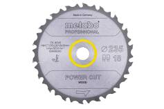 "Saw blade ""power cut wood - professional"", 235x30, Z18 FZ/FA 10° (628492000)"