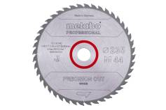 "Saw blade ""precision cut wood - professional"", 235x30, Z44 WZ 15° (628494000)"