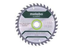 "Saw blade ""cordless cut wood - classic"", 165x20 Z36 WZ 15° /B (628660000)"