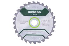 "Saw blade ""cordless cut wood - classic"", 216x30 Z28 WZ 5° /B (628665000)"