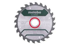 "Saw blade ""precision cut wood - classic"", 190x30 Z24 WZ 15° /B (628676000)"