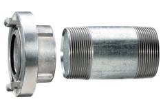 "Storz coupling 1 1/2"" with extension pipe 100 mm (628801000)"