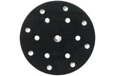 Backing pad 150 mm, medium, perforated, 6/8 holes (631150000)