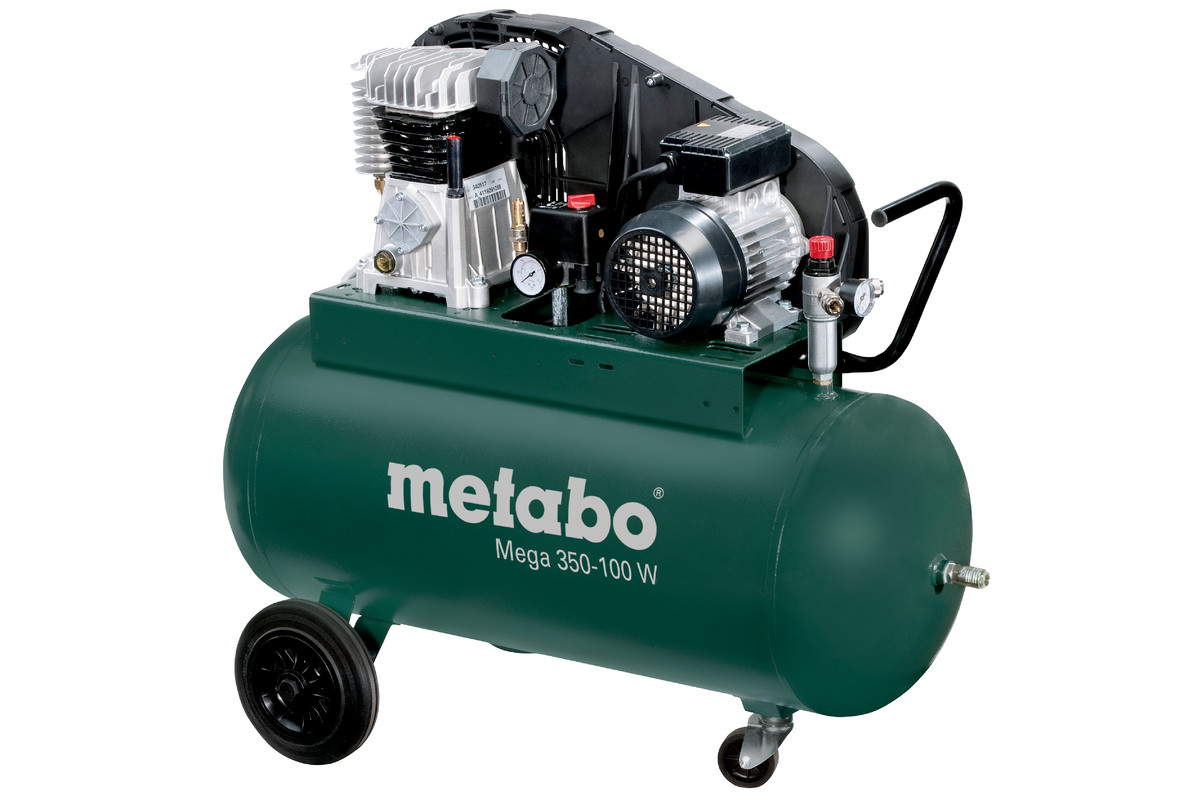 Mega 350 100 W 601538000 Mega Compressor Metabo Power