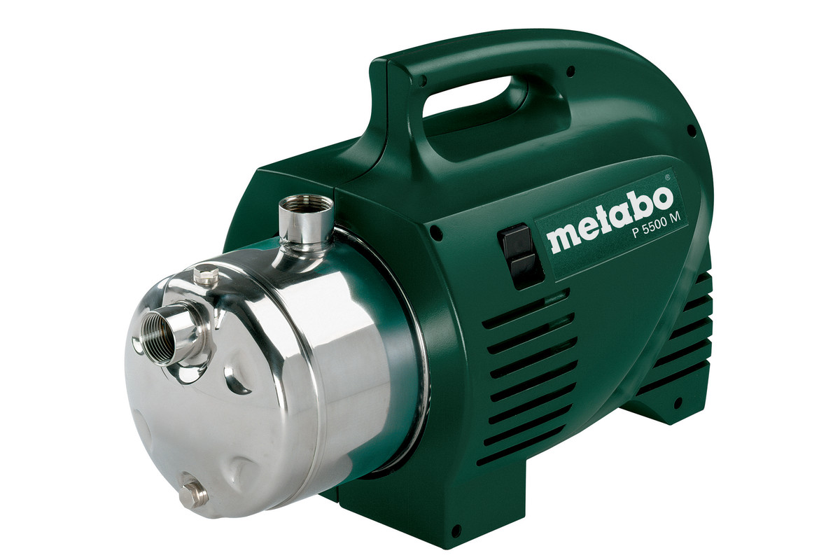 P 5500 M 0250550186 Garden Pump Metabo Power Tools