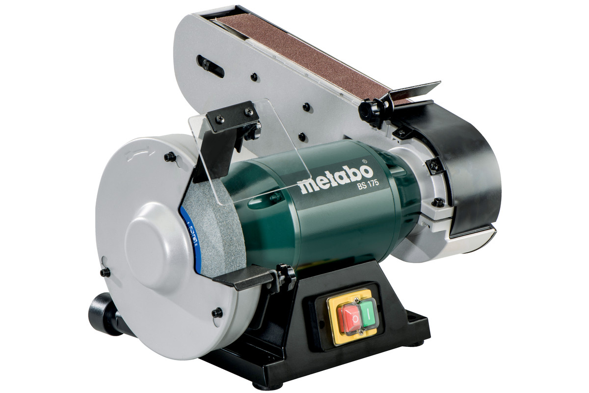 Bs 175 601750180 Combo Bench Grinder Metabo Power Tools