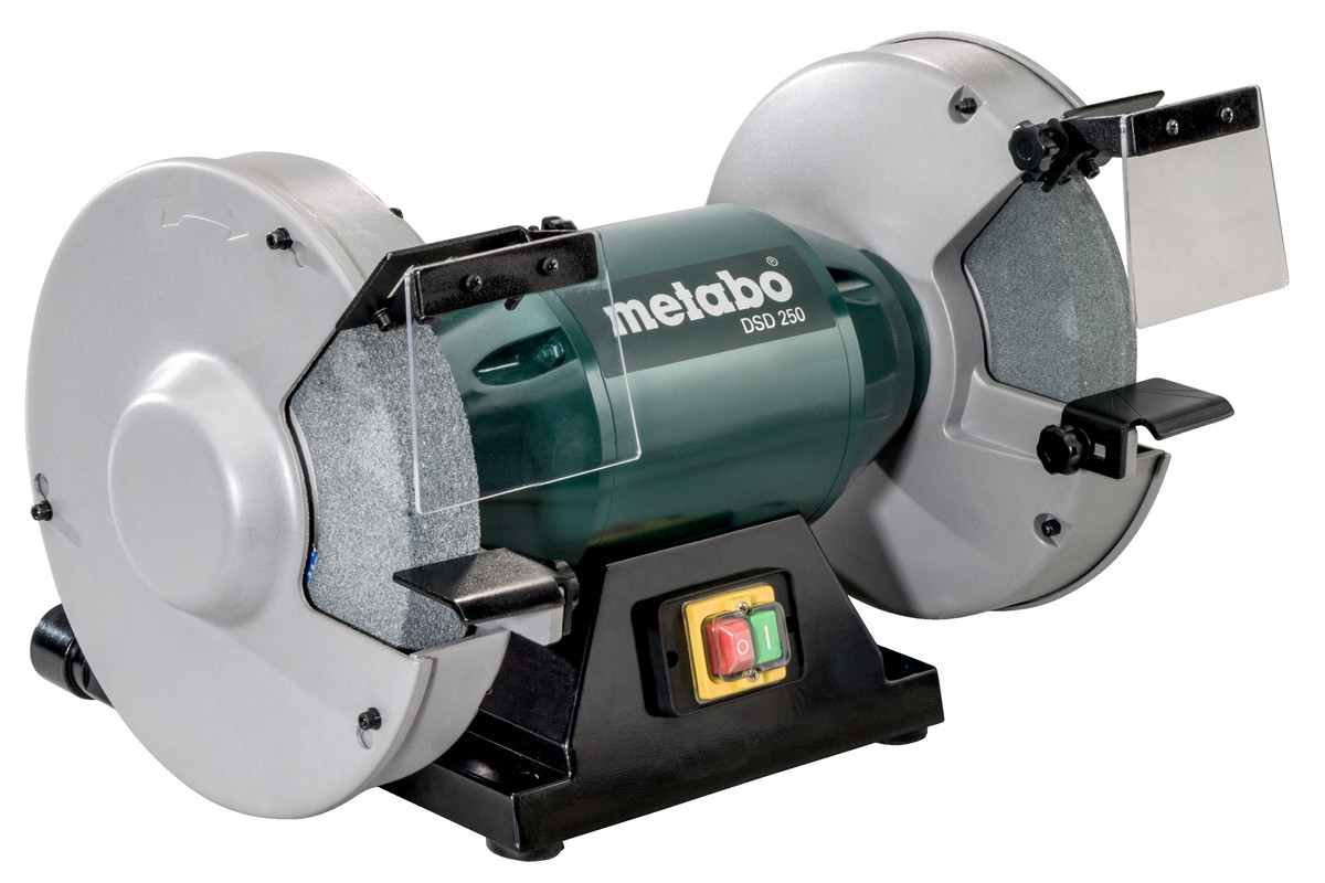 Fantastic Dsd 250 619250000 Bench Grinder Metabo Power Tools Machost Co Dining Chair Design Ideas Machostcouk