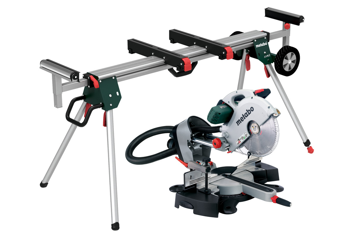 kgs 315 plus set 690971000 mitre saw metabo power tools. Black Bedroom Furniture Sets. Home Design Ideas