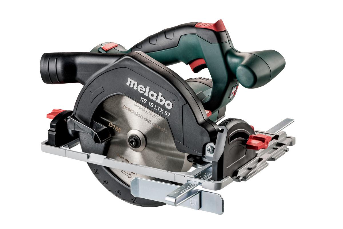 Circular saws sawing metabo power tools ks 18 ltx 57 601857840 cordless circular saw greentooth Image collections