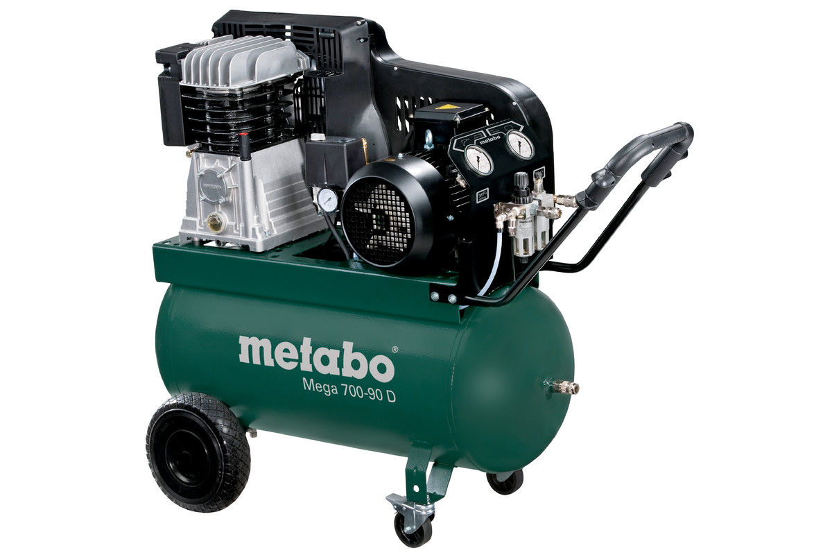 mega 700 90 d 601542000 mega compressor metabo power tools. Black Bedroom Furniture Sets. Home Design Ideas