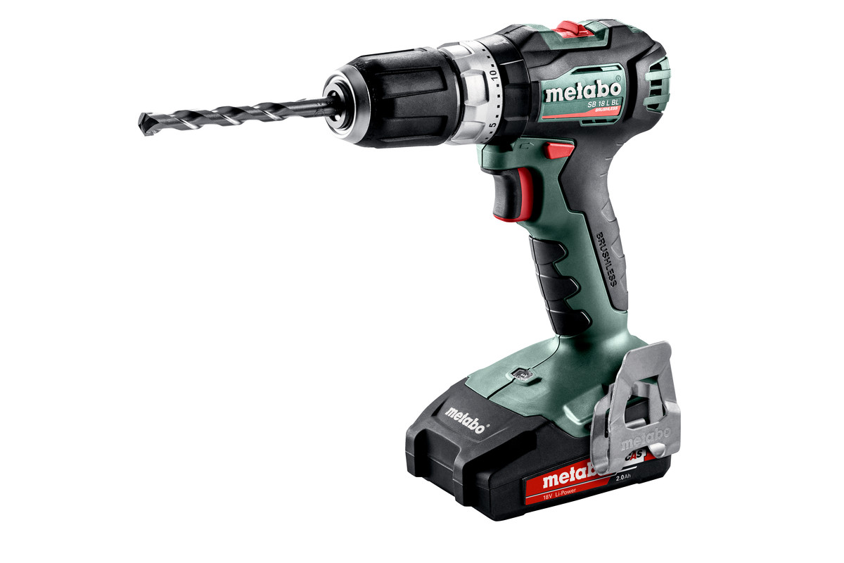 Sb 18 L Bl 602331500 Cordless Hammer Drill Metabo Power Tools