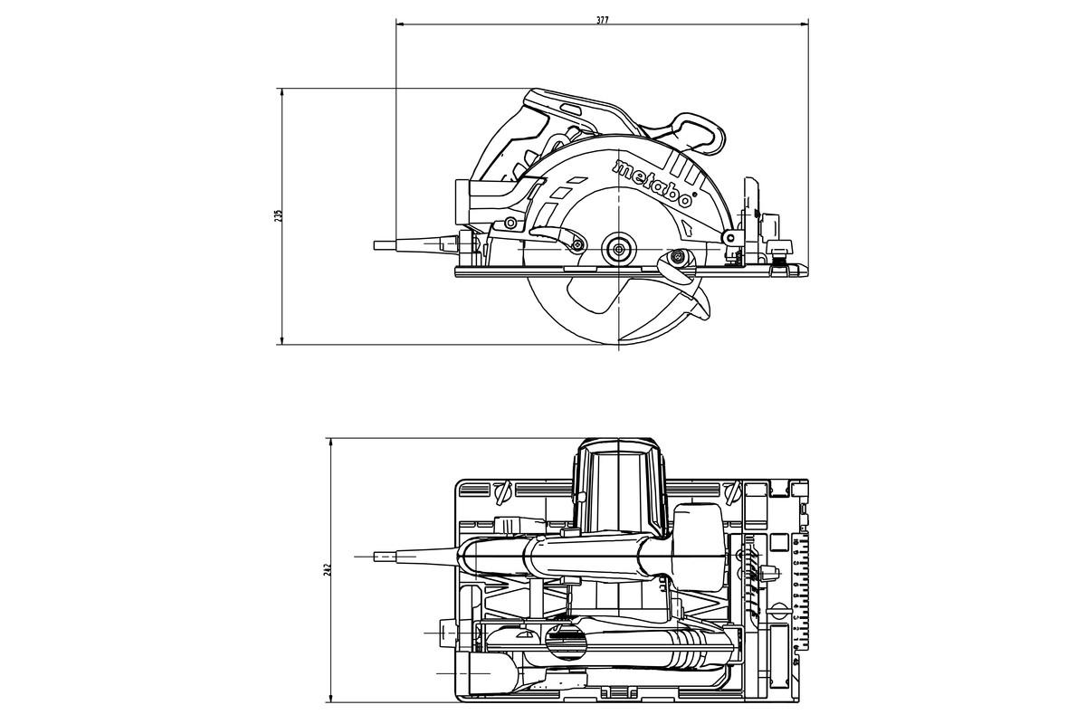 Fine Ks 55 Fs 600955180 Circular Saw Metabo Power Tools Wiring Digital Resources Cettecompassionincorg