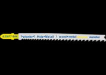 Plátky pro přímočaré pily na tvrdé dřevo (bimetal)