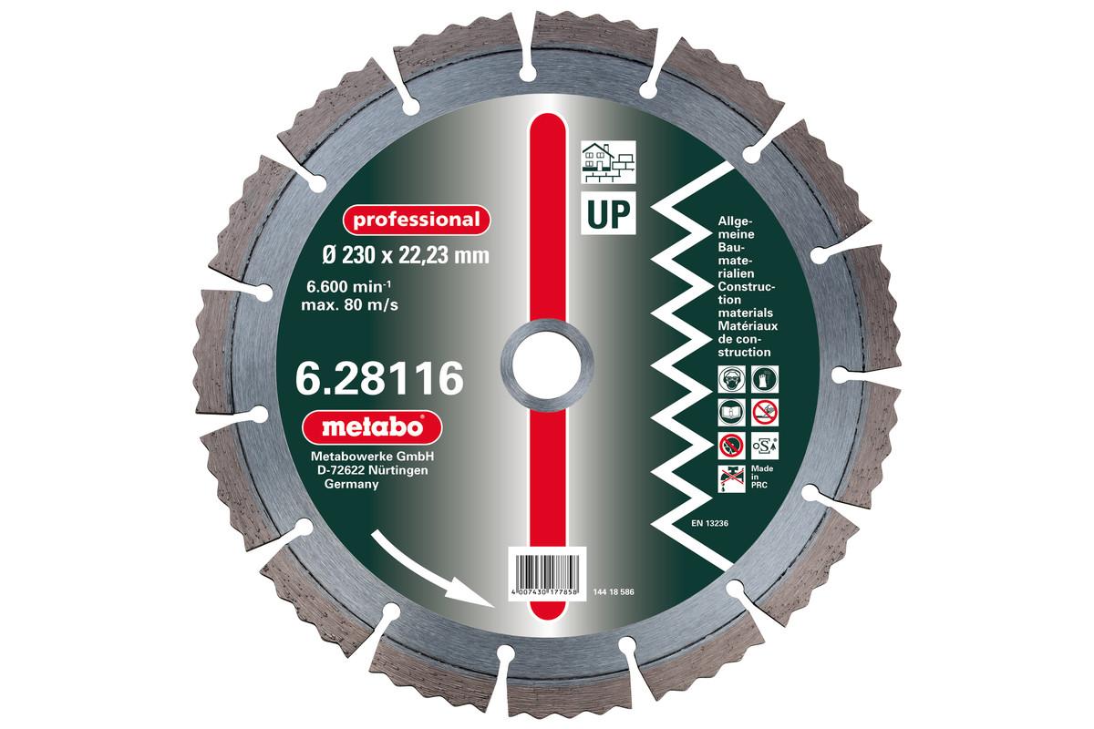"""Dia-TS, 125x2,15x22,23mm, """"professional"""", """"UP"""", univerzální (628112000)"""