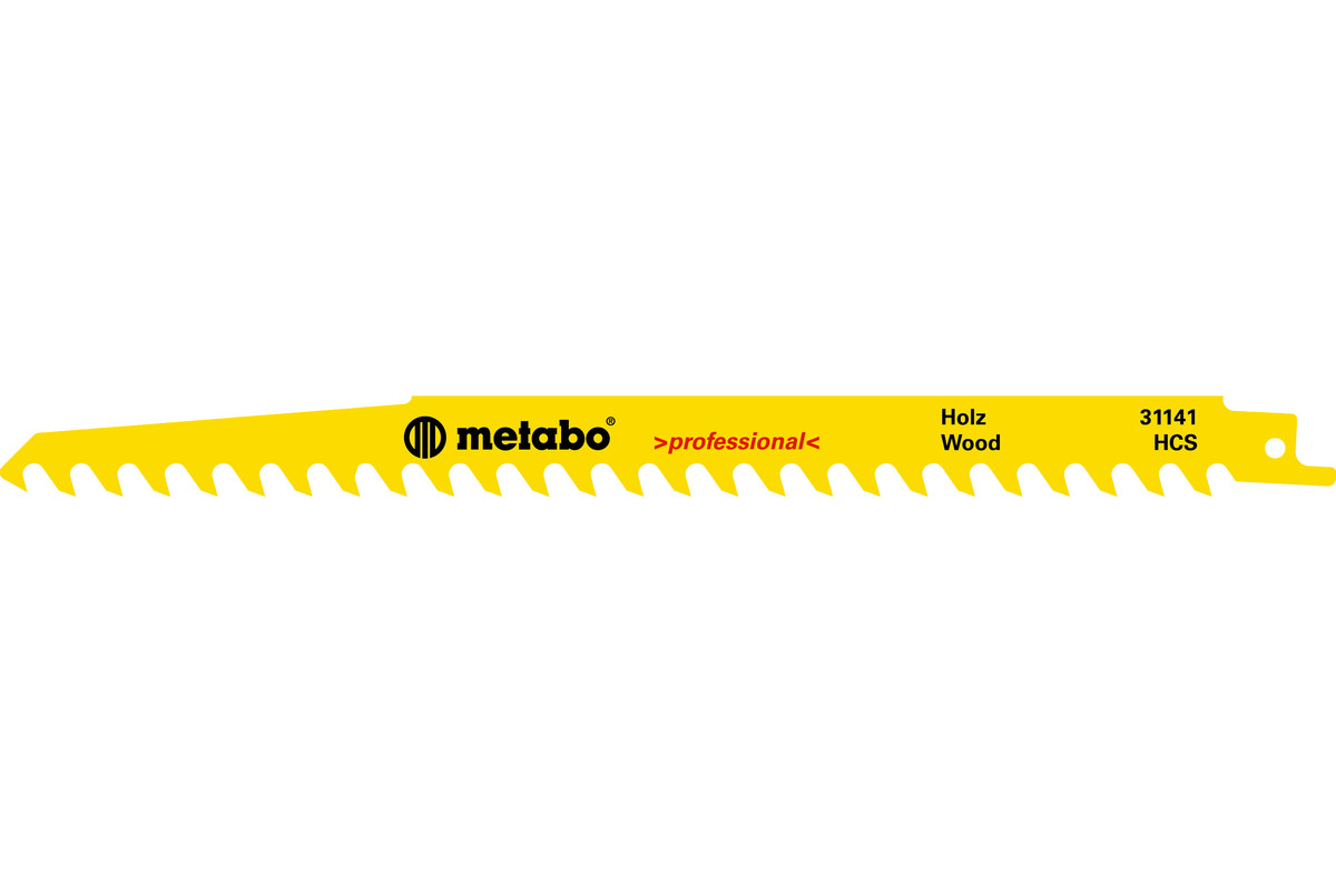 5 plátků pro pily ocasky, dřevo, profes., 240x1,5 mm (631490000)