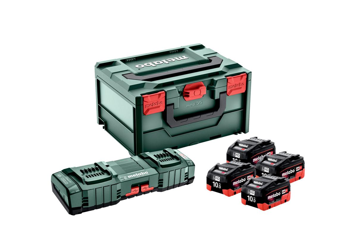 Základní sada 4x LiHD 10Ah + ASC 145 DUO + metaBOX (685143000)