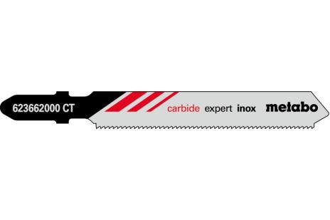 3 plátky pro přímočaré pily, Inox, expert, 57/ 1,1 mm (623662000)
