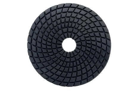 5 diamantový lešticí kotouč se suchým zipem, Ø 100 mm, buff černý, za mokra (626146000)