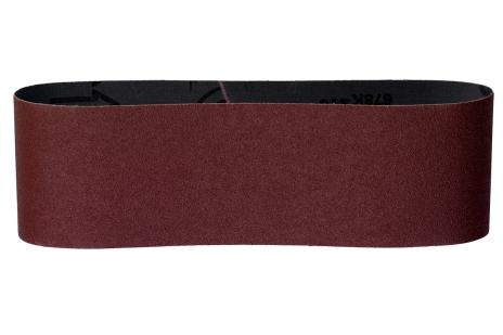 3 brusné pásy 75x533 mm,P 120, dřevo a kov (631005000)