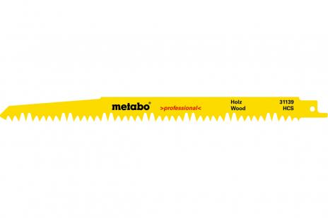 5 plátků pro pily ocasky, dřevo, profes., 240x1,5 mm (631488000)