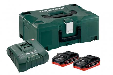 Základní sada 2 x LiHD 3,5 Ah + ASC ultra + Metaloc (685102000)