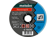 Novorapid 125 x 1,0 x 22,23 mm, ocel, TF 41 (616506000)