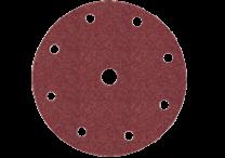 Haftschleifblätter Ø 150 mm, 9 Löcher