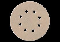 Haftschleifblätter Ø 125 mm, 8 Löcher