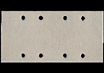 Haftschleifblätter 93 x 185 mm, 8 Löcher, mit Kletthaftung