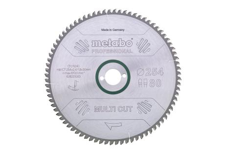 "Sägeblatt ""multi cut - professional"", 210x30, Z64 FZ/TZ, 5°neg.  (628082000)"