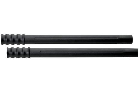 2 Saugrohre D-35mm, L-0,4m, Kunststoff (630314000)