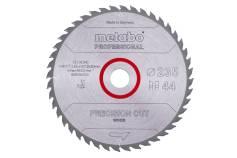 """Sägeblatt """"precision cut wood - professional"""", 235x30, Z44 WZ 15°  (628494000)"""