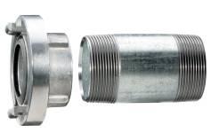 """Storzkupplung 1 1/2"""" mit Verlängerungsrohr 100 mm (628801000)"""