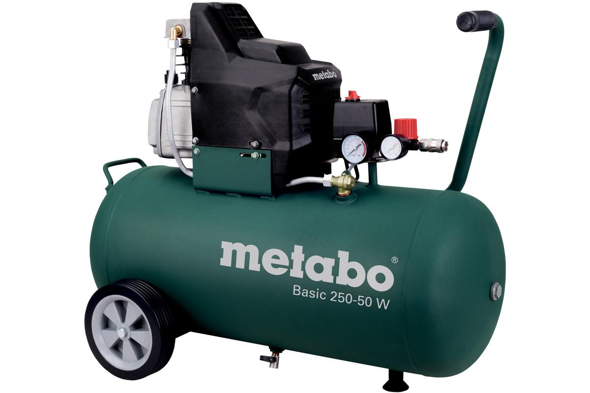 basic 250 50 w 601534000 kompressor basic metabo elektrowerkzeuge. Black Bedroom Furniture Sets. Home Design Ideas