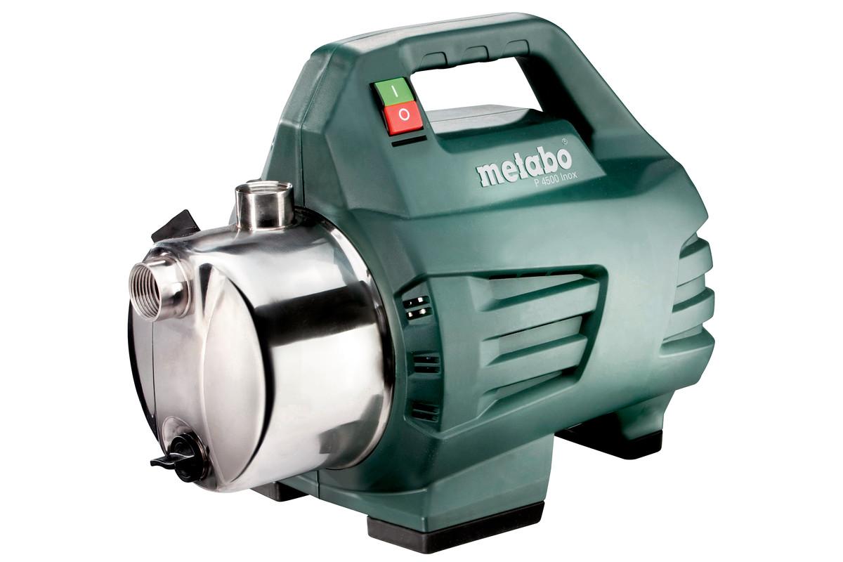 p 4500 inox (600965000) gartenpumpe | metabo elektrowerkzeuge
