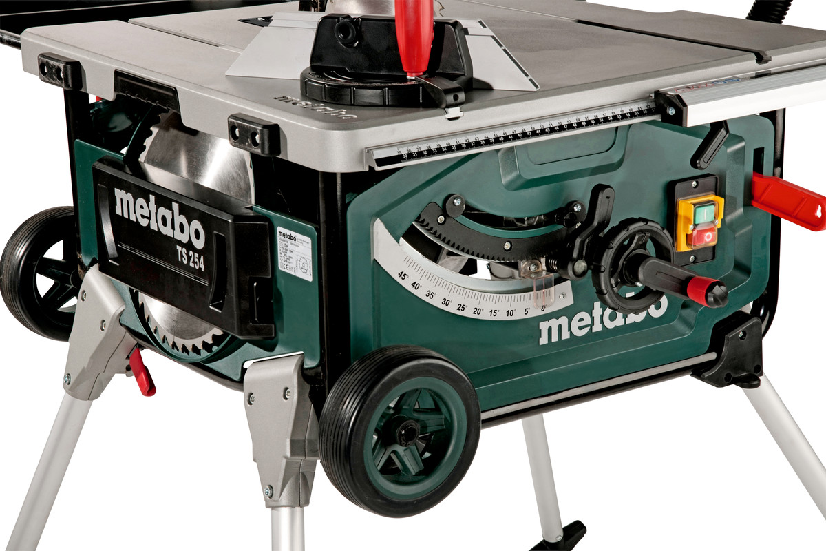ts 254 (600668000) tischkreissäge | metabo elektrowerkzeuge