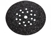Slibeark med burrelås 225 mm 19 huller