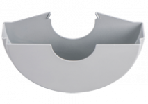 Beskyttelsesskærme til fladhoved-vinkelslibere