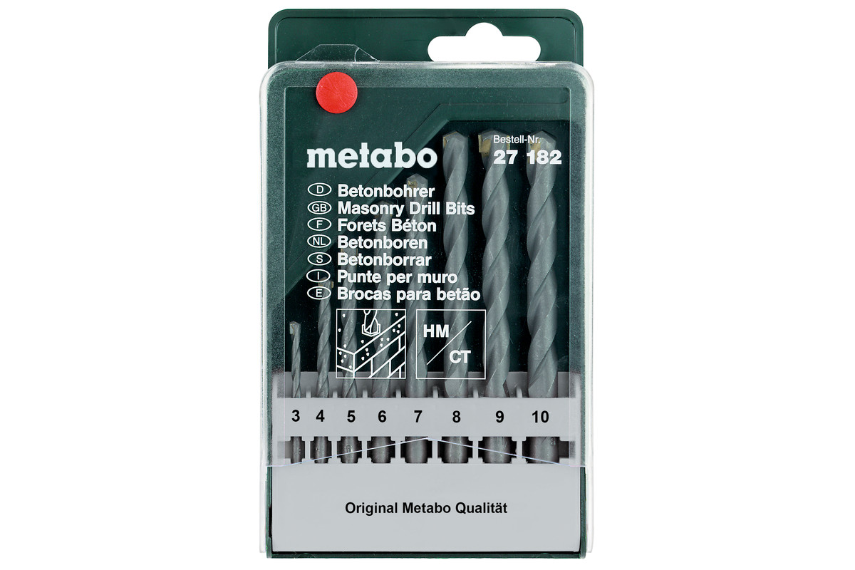 Beton, borkassette classic med 8 dele (627182000)