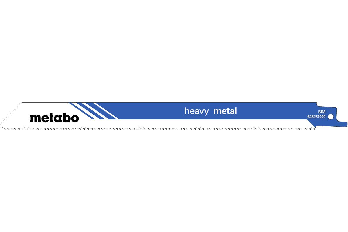 5 bajonetsavklinger, metal, prof., 225x 1,25 mm (628261000)