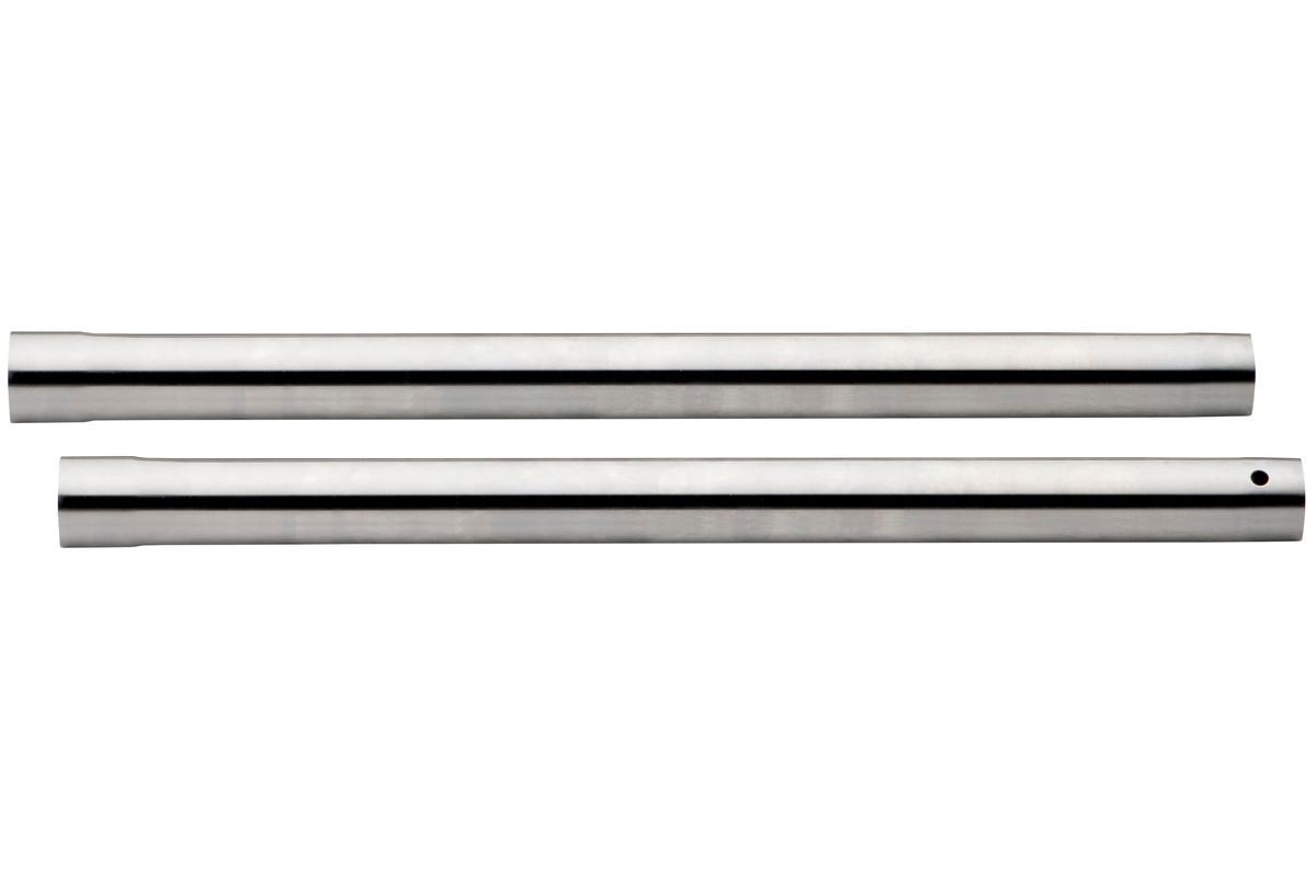 2 sugerør, Ø 35 mm, l. 0,4 m, forkr. (631363000)
