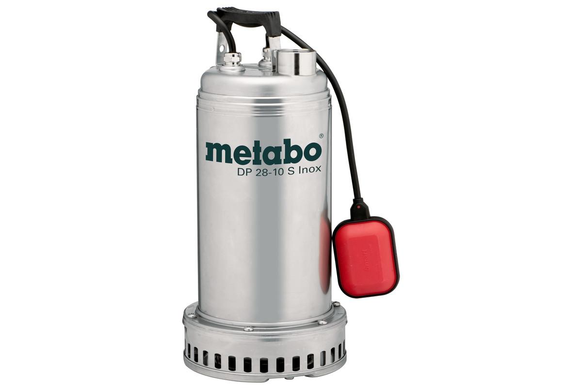 DP 28-10 S Inox (604112000) Entreprenør- og spildevandspumpe