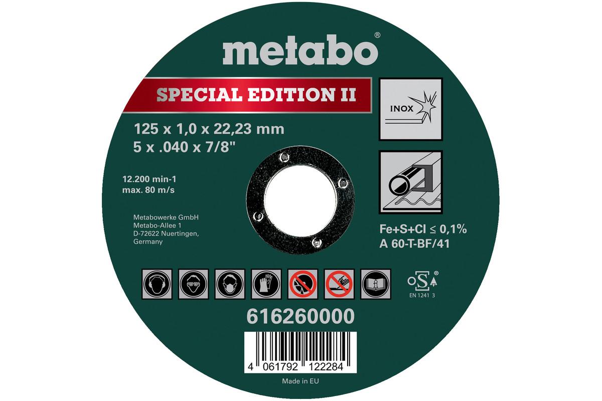 Special Edition II 125 x 1,0 x 22,23 mm, Inox, TF 41 (616260000)
