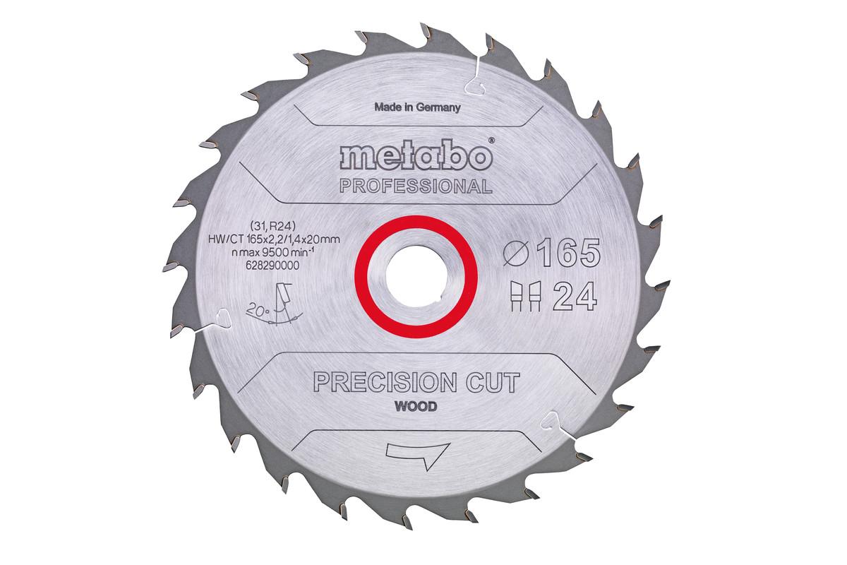 "Savklinge ""precision cut wood - professional"", 165x20 Z42 WZ 15° (628291000)"